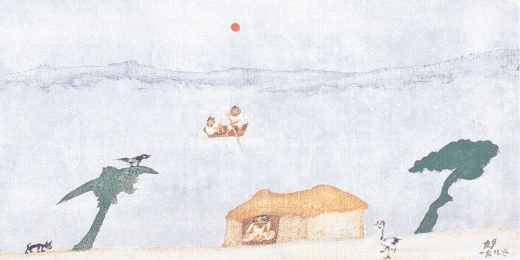 장욱진 작품세계, 그림 속에 녹아있는 화가의 삶 : 네이버캐스트