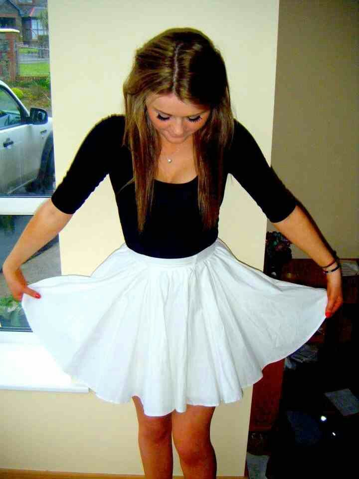 White Dress Teen 54