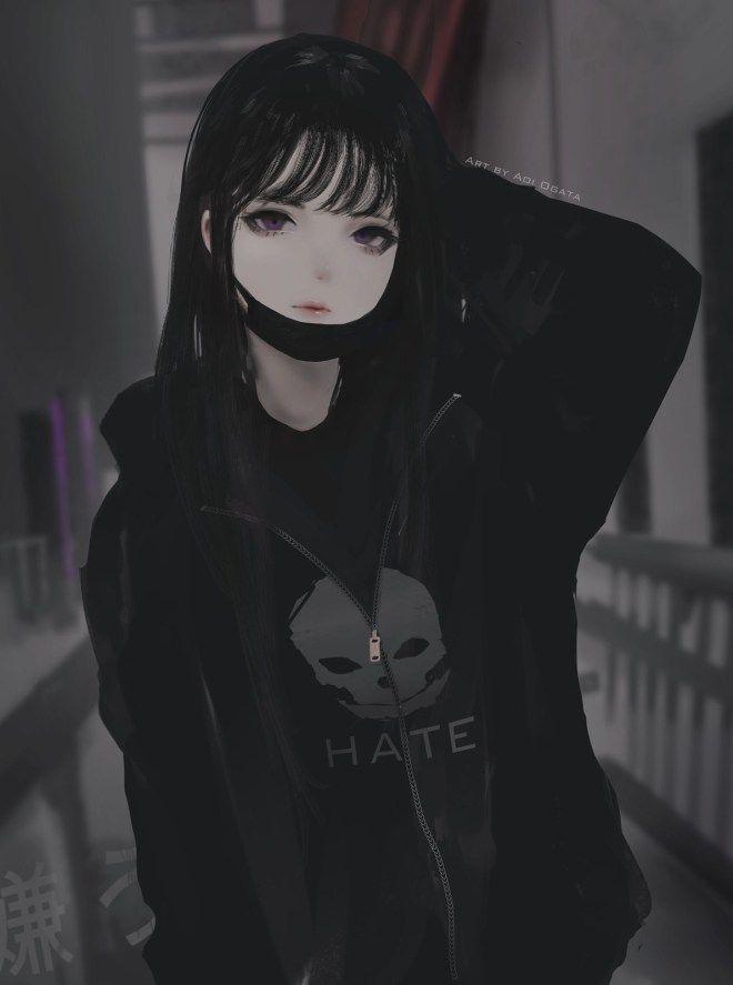 Dans le monde Gothique et Lolita d'Aoi Ogata