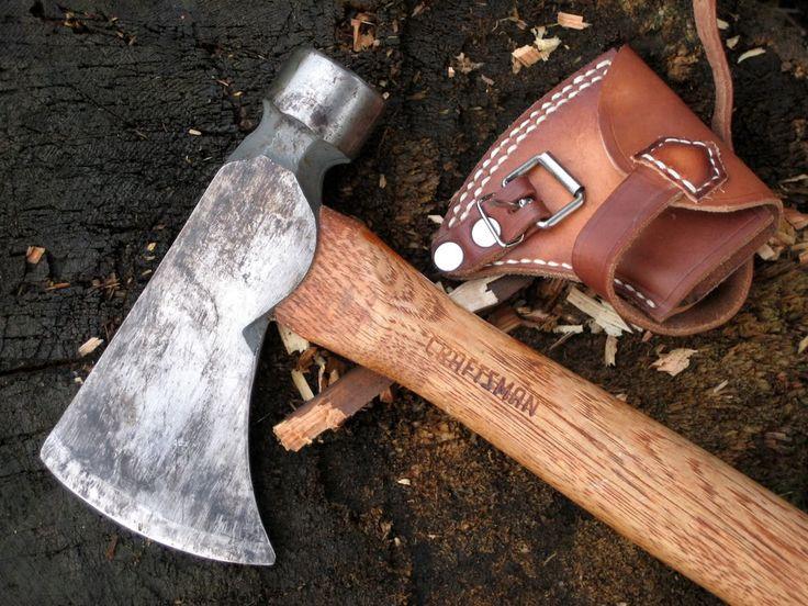 Modified Carpenter S Hatchet Tomahawk Axe Axe Antique
