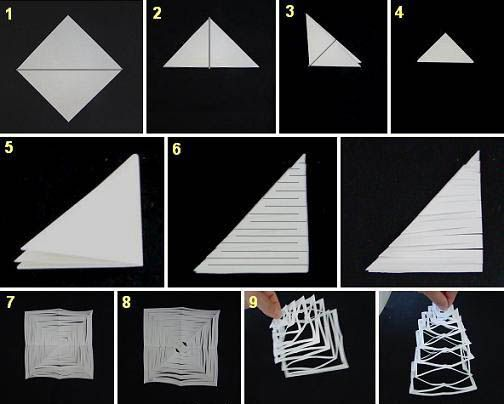 19 best images about paper crafts on pinterest mad tea for Kirigami paper art