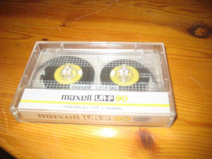 Maxell  UR-F 90   c90 Vintage Audio Cassette  rar***