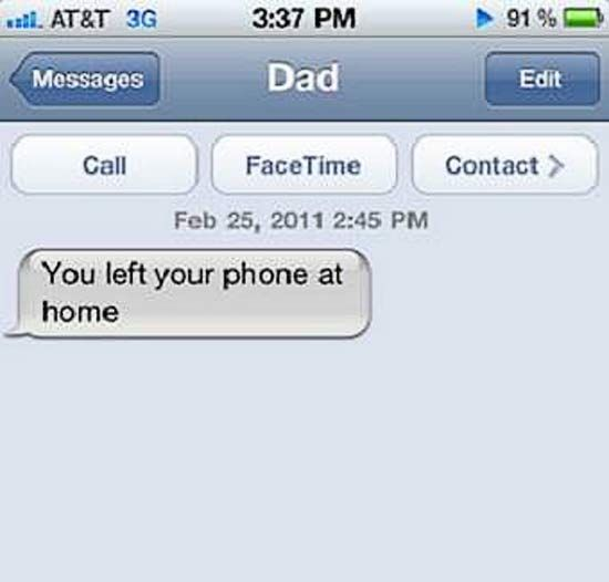 There's a plethora of reasons why parents shouldn't texts. It's proven by these hysterically funny texts from mom and dad. From great autocorrects to crazy