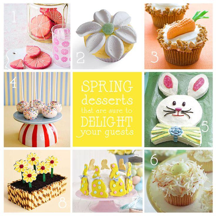 Spring Dessert Images Spring Easter Desserts Small