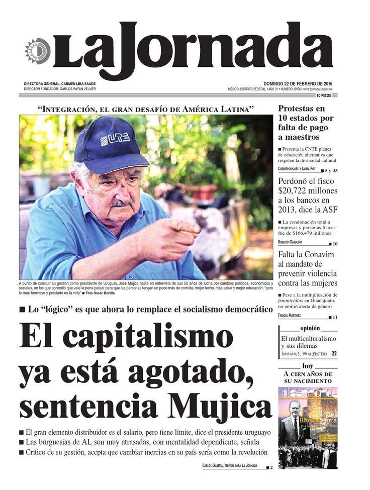 Edición impresa de La Jornada: 02/22/2015