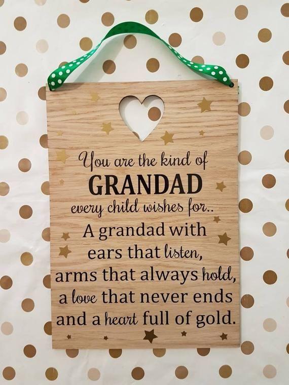 Grandad Gift Fathers Day Grandparent Poem Grandpa Gift Gift For Grandad Gift For Him Family Gift Grandad Quotes Grandpa Quotes Fathers Day Poems