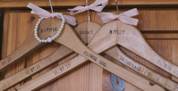 Bridesmaid hangers