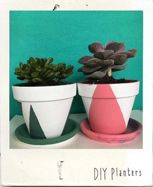 DIY Minimalistic Planters My first blog post!! Check it out