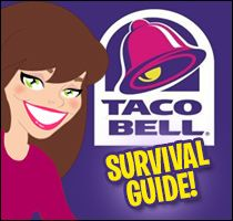 Hungry Girl's survival guide for Taco Bell. PIN NOW!