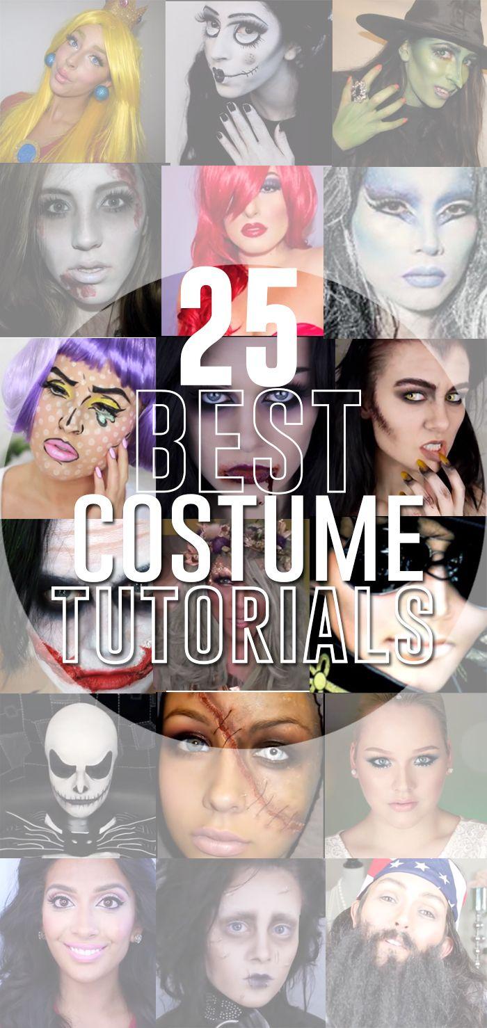 25 Best #Costume Tutorials - #makeup #cosplay #Halloween