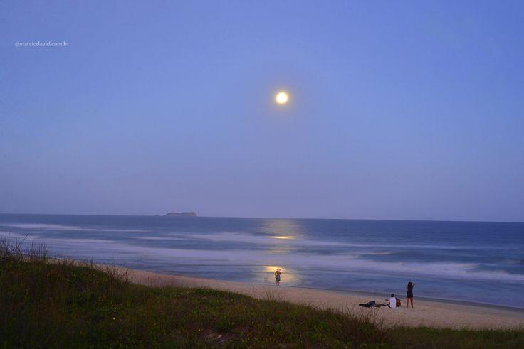 As noites de lua cheia são hipnotizantes. Floripa - Home