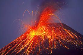 A volcano eruption is a very serios problem because the lava can destroyed houses and can put the live of people and animals in danger