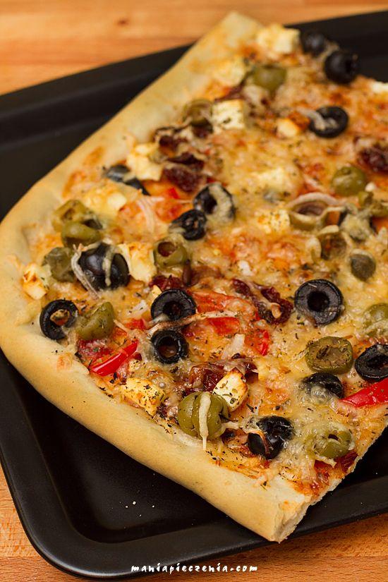 pizza, ciasto do pizzy, szybkie ciasto do pizzy, cienkie ciasto do pizzy, pizza dough, pizza bez wyrastania, pizza crust, italian pizza dough