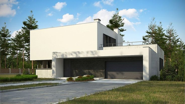 DOM.PL™ - Projekt domu SZ5 Zx130 CE - DOM SZ2-74 - gotowy projekt domu