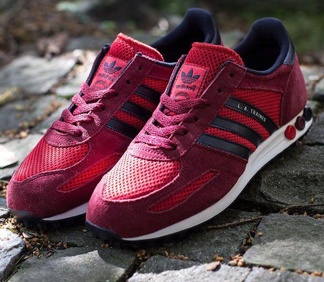 Adidas La Trainer Red