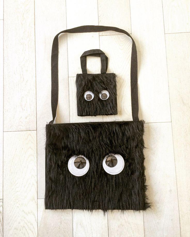 Monster Bag set. Super cute!