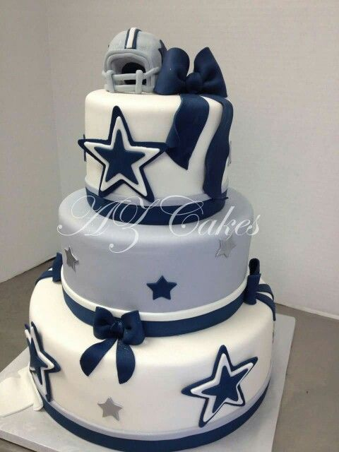 27 best Saharas dallas cowboy baby shower images on Pinterest