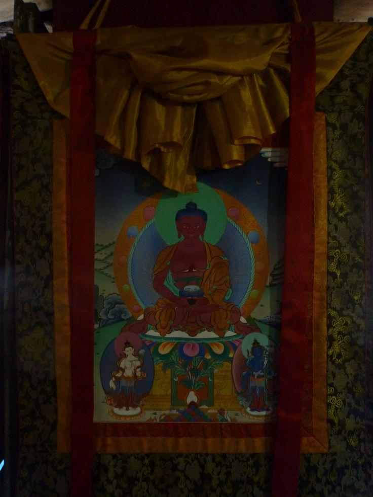god buddha in febric