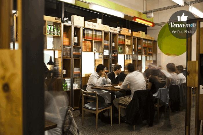 Back Dining Room at MoVida Aqui