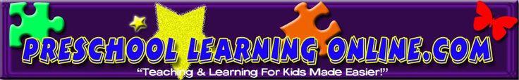 Preschool Activities, Learning Activities,Kindergarten activities, lesson plans for teachers, Lesson plans for preschoolers & more