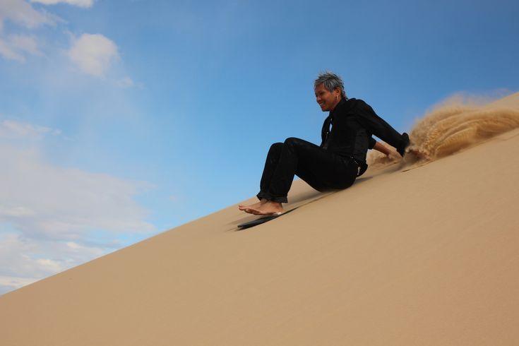 Port Stephens 4wd - Sandboarding