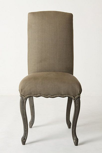 Clarissa Dining Chair- These come in 4 colors.  Could fe funky and fun around a dining room table.