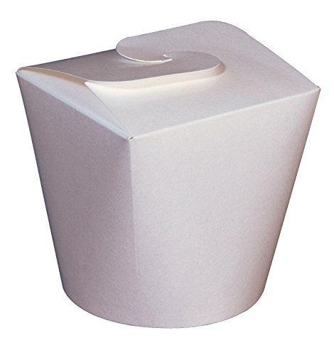 BOITES A PATES CARTON BLANCHE 80CL – 50 PIECES (FAB EUROPE): Boîtes à pâtes ou autre usage pour une consommation produit chaud ou froid,…
