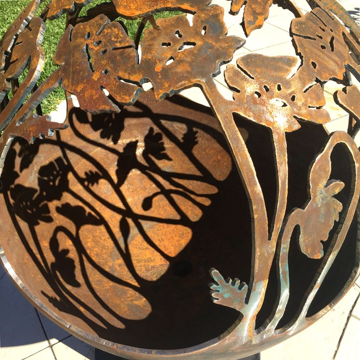 Pin by Unique Feature Fire Pits on Poppy / Anzac Fire Pit ...
