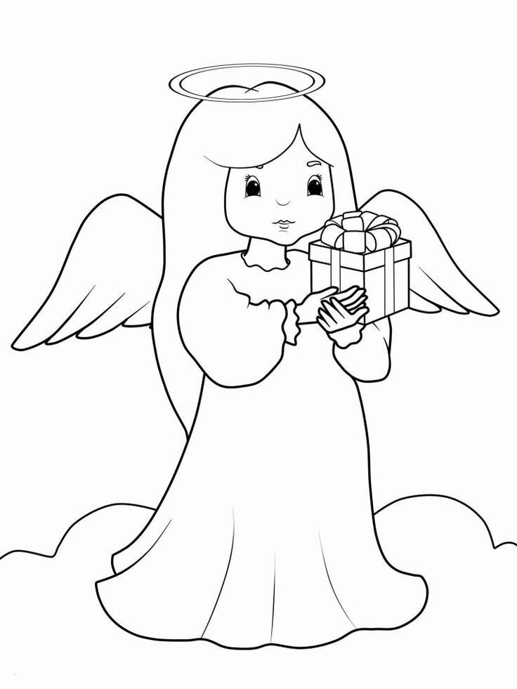engel ausmalbilder  kindermalvorlagentv engel