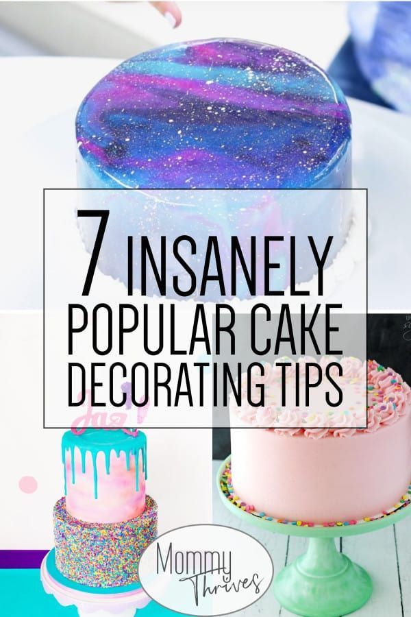 7 Easy Cake Decorating Trends For Beginners Easy Cake Decorating