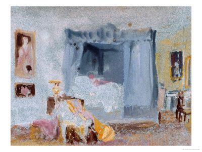 Watercolour Paintings Of Rooms At Petworth