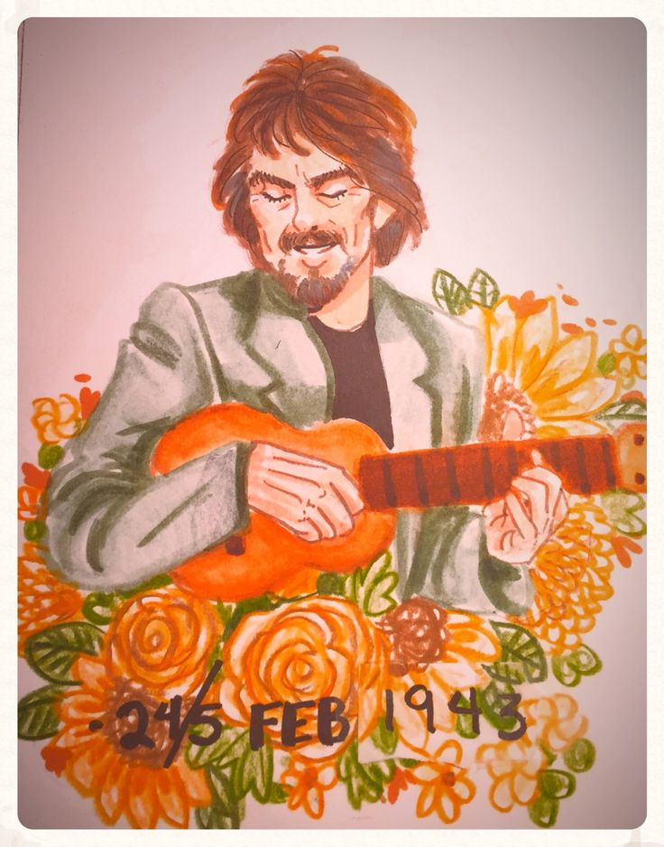"silveraspensart: ""HAPPY BIRTHDAY TO MY FAVORITE BEATLE! Two birthdays aren't enough for this wonderful man ✨✝️ """