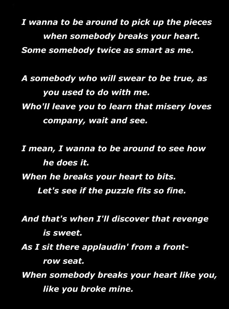 Lyric pick up the pieces lyrics : 160 best LYRICs Words images on Pinterest | Music lyrics, Lyrics ...