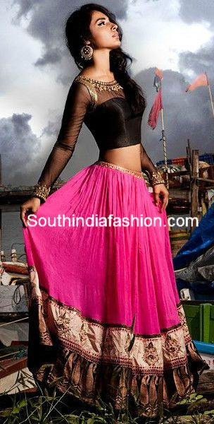 Classy Blouse Design ~ Celebrity Sarees, Designer Sarees, Bridal Sarees, Latest Blouse Designs 2014