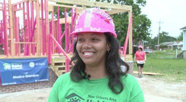 NEW ORLEANS (WGNO) - New Orleans Area Habitat for Humanity and the New Orleans Redevelopment Authority broke ground today on a huge affordable housing project in the Lower Ninth Ward.  The organizations have teamed up to build 100 houses on 48 vacant lots in an area that has struggled to rebuild since Hurricane Katrina.