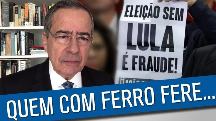 """Lula-2018 virou Moro do avesso """"Não há crime, mas há impeachment"""" """"O que vale é meu voto ou meu argumento? O que vale é meu voto, é o painel. Se o meu argumento é outro, o que importa é o voto. Eu fiz um estudo jurídico sem nenhum [fator] político. O resultado foi totalmente diferente, por unanimidade, não havia crime de responsabilidade"""", declarou. https://www.pragmatismopolitico.com.br/2016/09/senador-admite-que-votou-contra-dilma-mesmo-sem-crime-de-responsabilidade.html"""