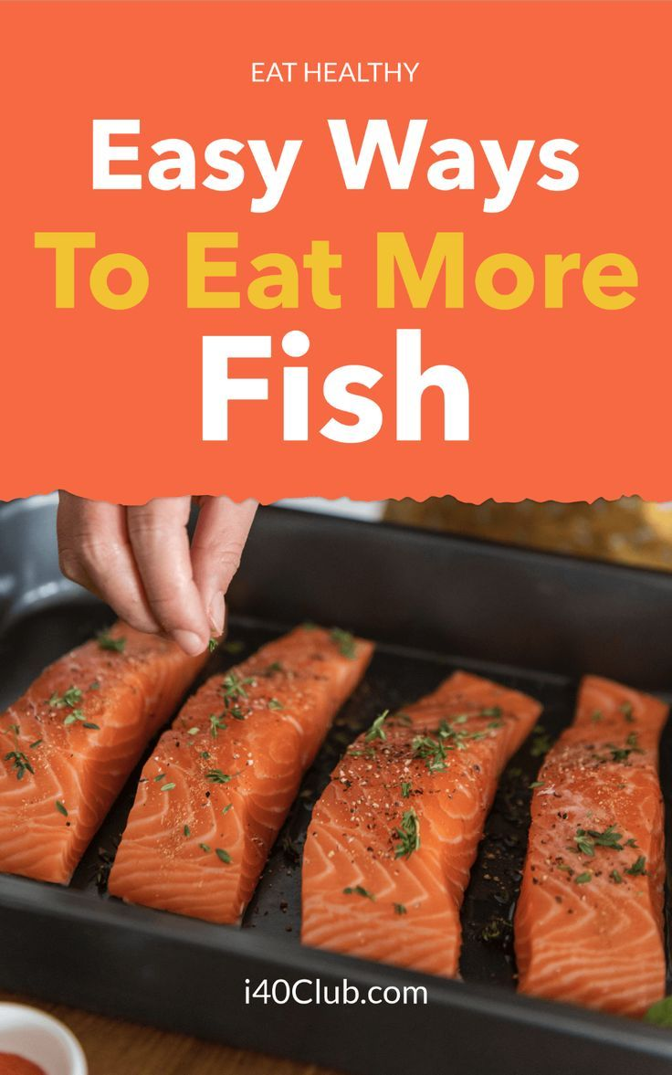 how to get more fish in your diet