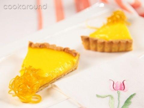 Crostata di crema al limone: Ricette Dolci | Cookaround