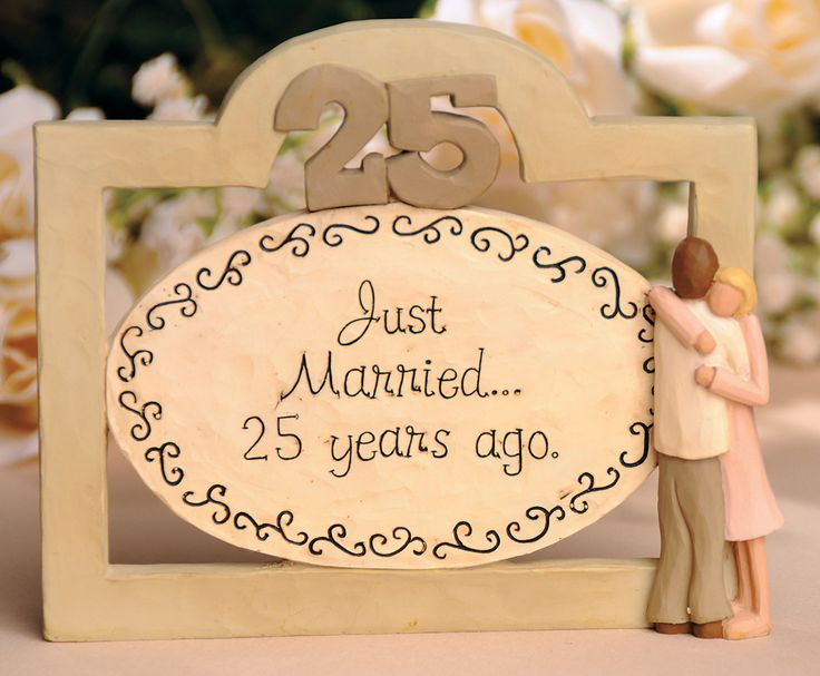 25th anniversary gift ideas anniversary plaque anniversary greetings ...