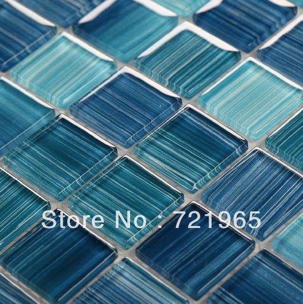 Buy glass mosaic for swimming pool tile for Swimming pool wall tiles