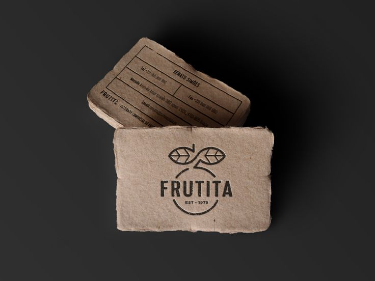 Business Cards for Frutita by Scytale