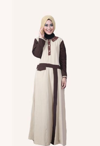 """Jual beli Baju Muslim Wanita Gamis Model GM-1302 Coklat - SALE di Lapak Aprilia Wati - agenbajumuslim. Menjual Dress - WAJIB DIBACA!!!! PASTIKAN STOK READY SEBELUM TRANSAKSI !!!!!!!!!!! Pesanan akan dikirim berdasarkan stok yang ready saja Untuk Ketersediaan Stok Bisa Hubungan kami di CHAT ME atau inbox saja  Rahnem Gamis Model GM-1302 Coklat Kode :      GM-1302 Coklat   Pilihan Warna: Coklat Susu  Ungu Muda    Harga : Rp 165.000,-  Ready Size : XS   """"NB: STOK BERUBAH SEWAKTU-WAKTU, Untu..."""