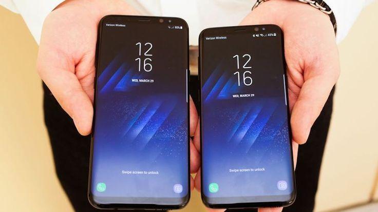 Nuevo teléfono móvil Samsung Galaxy S8 es uno de los más vendidos en los países americanos en el último periodo.
