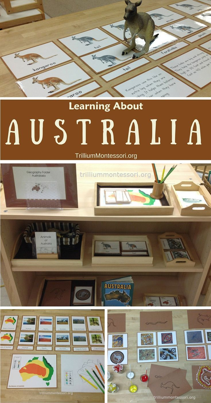Montessori Activities for Learning About Australia