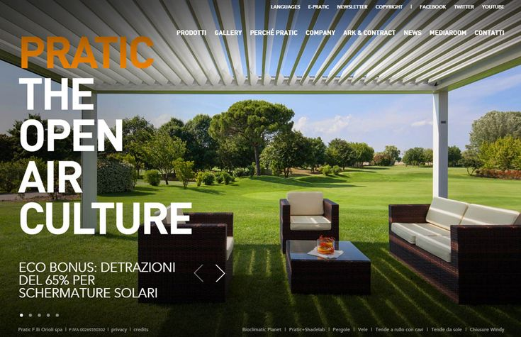 Pratic, the open air culture - Website of the Day