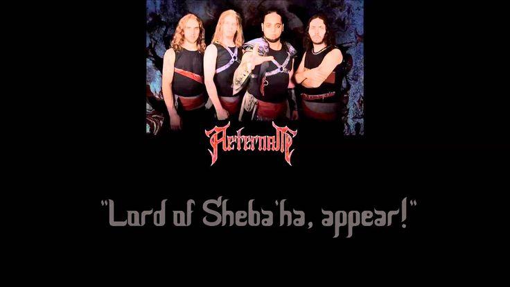 Aeternam - Iram of the Pillars (lyrics on screen)