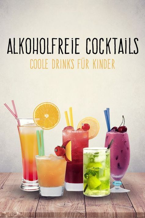 Alkoholfreie Cocktails: 10 Rezepte für coole Kinder-Drinks