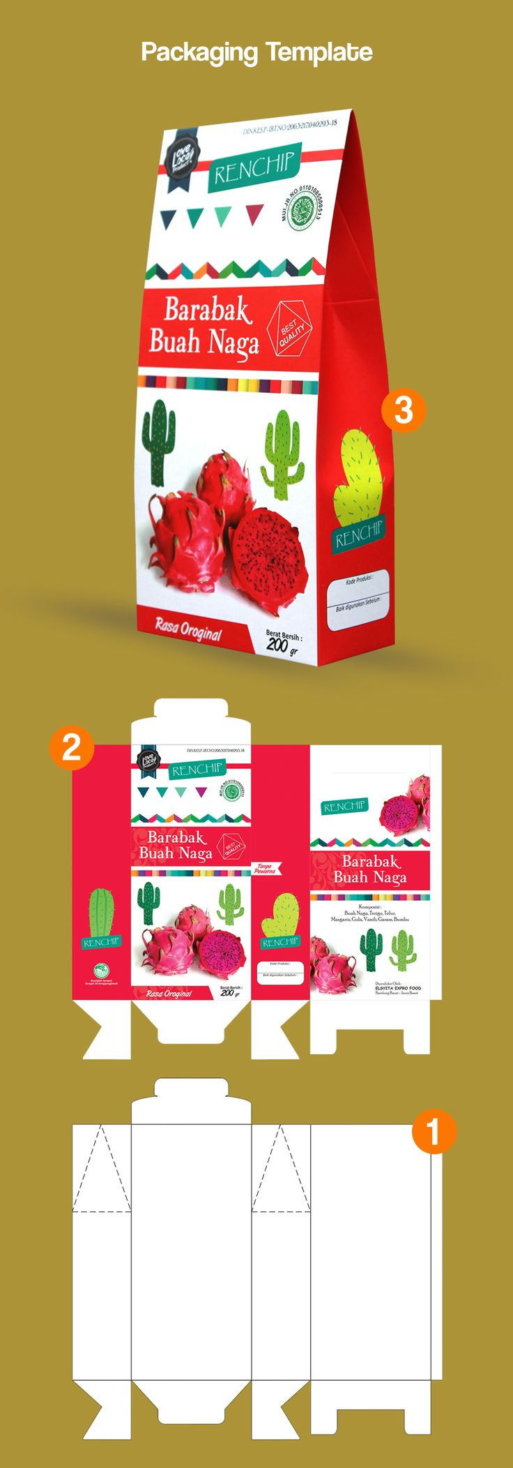 #Packaging #Template #Layout