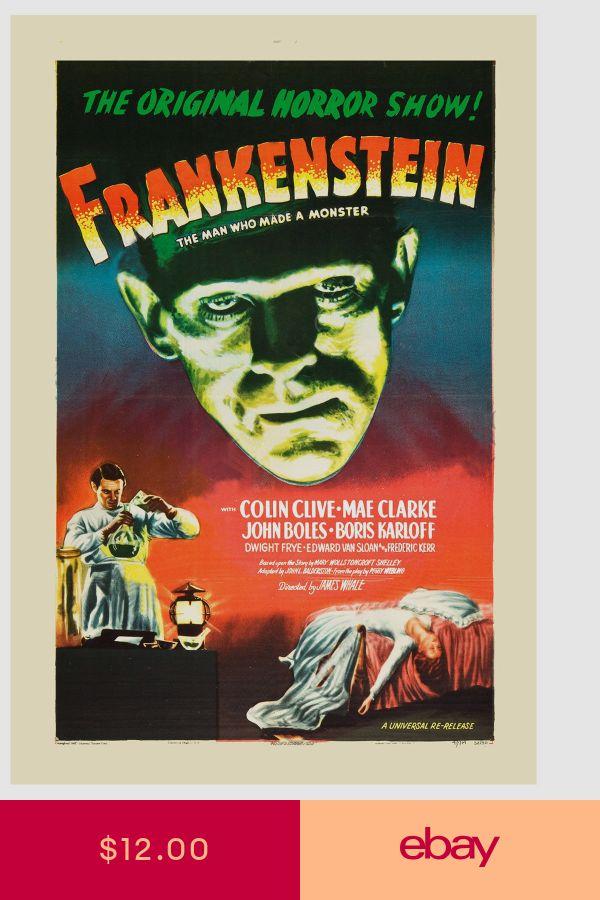 USA NEW Colin Clive Frankenstein Movie POSTER 11 x 17 Boris Karloff K