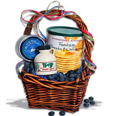 Taste of New England Mini Breakfast Gift Basket™ - http://mygourmetgifts.com/taste-of-new-england-mini-breakfast-gift-basket/